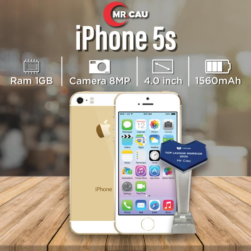 Điện thoại giá rẻ iPhone 5s - 16GB - quốc tế youtube tiktok facbook  Game online mượt nghe gọi to vân tay nhạy