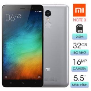Điện Thoại Xiaomi Redmi Note 3 32GB Chính Hãng - Pin Trâu - Chiến Game Mượt Mà - Điện Thoại cảm ứng giá rẻ thumbnail