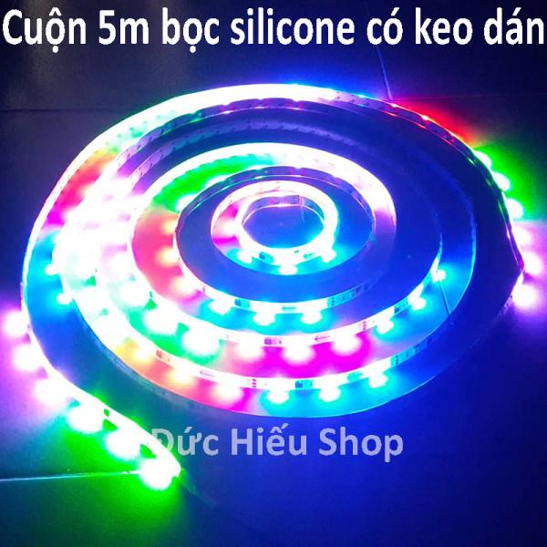 Bảng giá [ Siêu lung linh ] Đèn LED dây đuổi chạy 7 màu 12V
