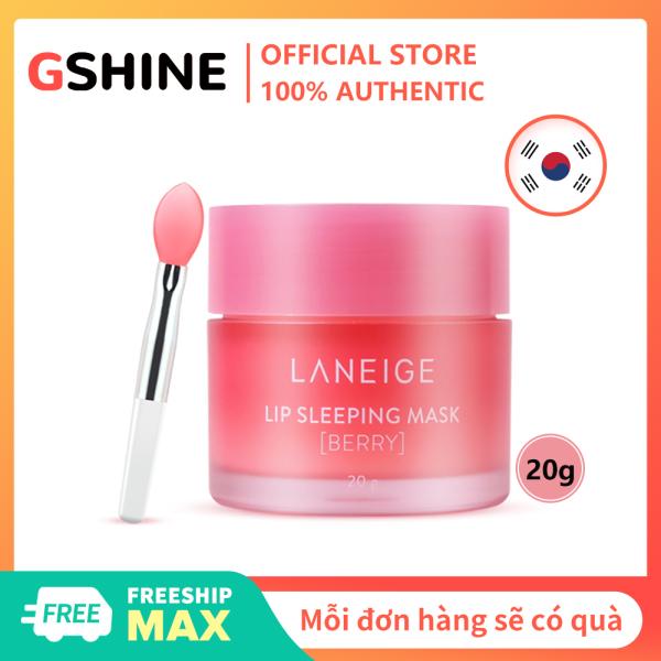 Mặt nạ môi Laneige chính hãng của Hàn Quốc 20g Dưỡng ẩm giữ ẩm ban đêm Sleep Repair Pure Freezing Lip Wrinkle Lipstick nhập khẩu