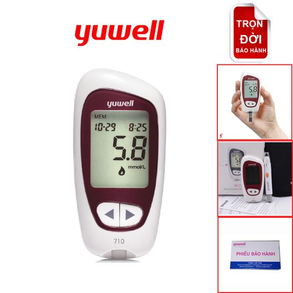 Máy đo đường huyết/ tiểu đường Yuwell Accusure 710 bán chạy