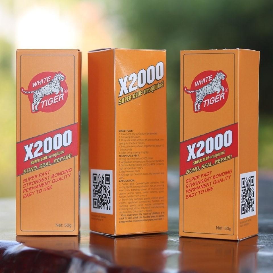 [ Có Video Thực Tế ]Keo dán đa năng siêu dính X2000 dán được mọi vật liệu Keo dán gỗ, thủy tinh, kim loại, sắt, gốm sứ, nhựa