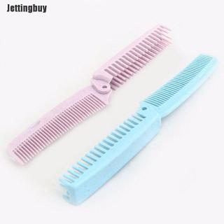 Lược chải tóc dạng gấp di động và chống tĩnh điện bằng chất liệu nhựa dễ dàng mang theo - INTL thumbnail