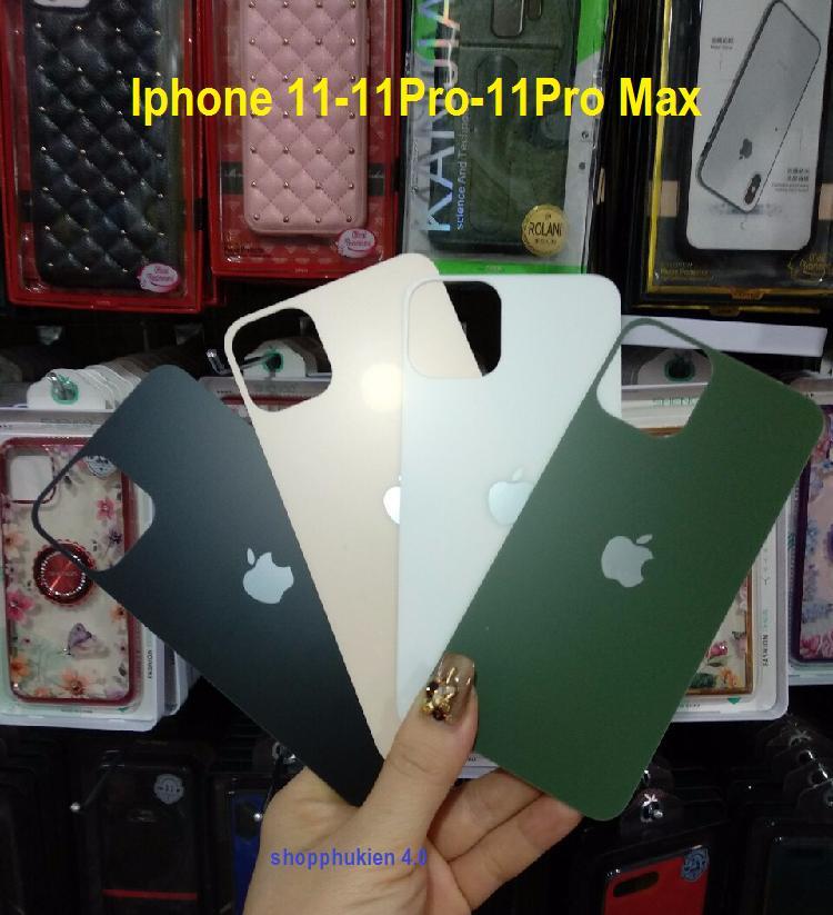 Giá Dán cường lực Full 5D mặt sau IPhone 11/IPhone 11 Pro/IPhone 11 Pro Max