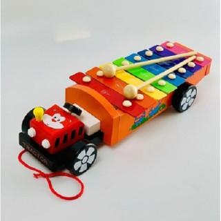 Đồ chơi Đàn gỗ kéo xe cho bé thumbnail