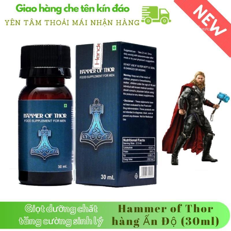 Giọt dưỡng chất_tăng cường_sinh lý nam giới_Hammer-Of-Thor_kéo dài thời gian, chống, trị xuất_tinh_sớm (chai 30ml) (che tên khi giao hàng) nhập khẩu