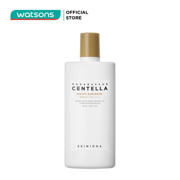Kem Chống Nắng Skin1004 Madagascar Centella Air-Fit SunCream SPF50+ PA++++Dưỡng Và Làm Mềm Da 50ml