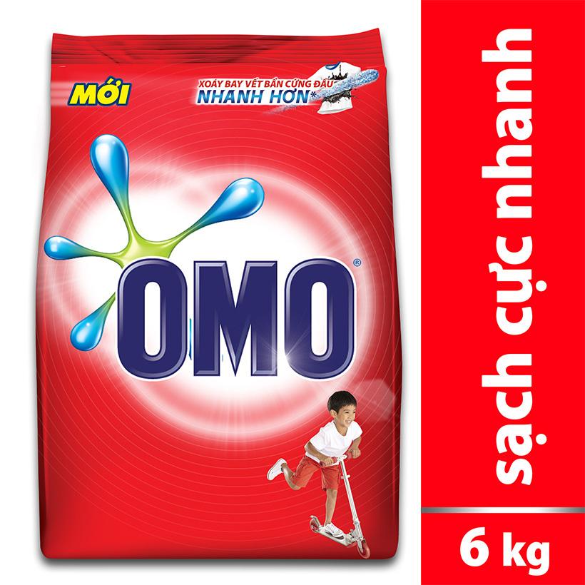 Coupon Giảm Giá Bột Giặt Omo 6kg