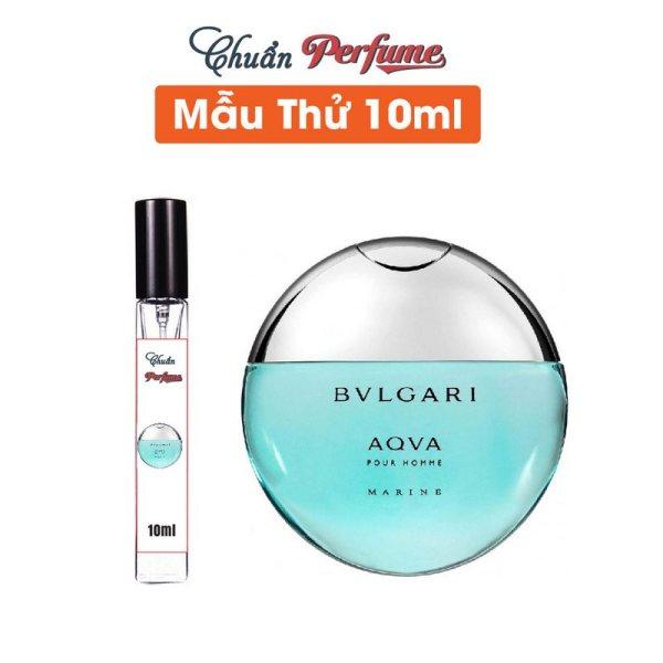[Mẫu Thử 10ml] Nước Hoa Nam Bvlgari Aqva Pour Homme Marine EDT Chiết 10ml » Authentic Perfume