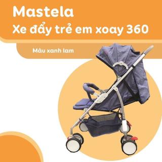 Xe đẩy em bé, xe đẩy trẻ em du lich siêu nhẹ siêu bền, xe đẩy đa năng, có màn chụp che nắng, bánh xe chống sốc,đệm ngồi êm, đệm chống thấm, Bảo Hành 1 Năm cho mẹ và bé thumbnail