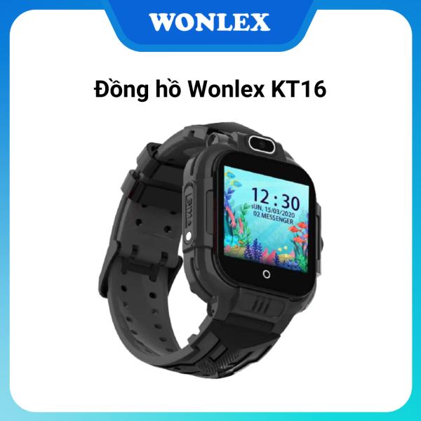 Đồng hồ thông minh trẻ em Wonlex KT16 (Màu Đen) cho bé trai, Video call, Định vi nhiều chế độ bảo vệ tối ưu GPS + AGPS + WIFI + LBS, Màn hình cảm ứng, Kháng nước IP67, Model cao cấp mới 2020