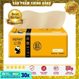 Giấy ăn gấu trúc SIPAO (gói 300 tờ), Giấy ăn gấu trúc Sipiao - Gói Giấy Ăn Gấu Trúc Sipiao Siêu Mịn, Giấy ăn gấu trúc cao cấp thumbnail