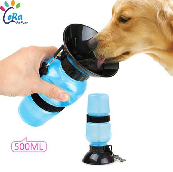 Bình Nước Uống Cho Chó Mèo - Kèm Phễu Tiện Dụng (Bình Nước 001)