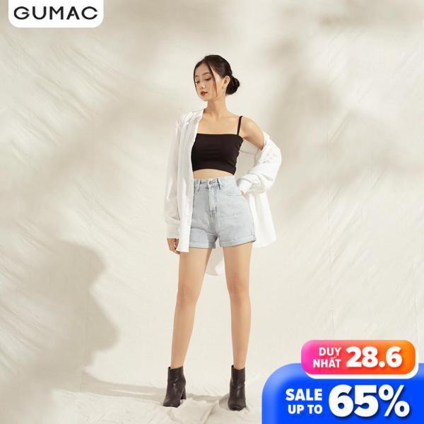 Nơi bán Quần short Jean nữ thời trang GUMAC QJA1177