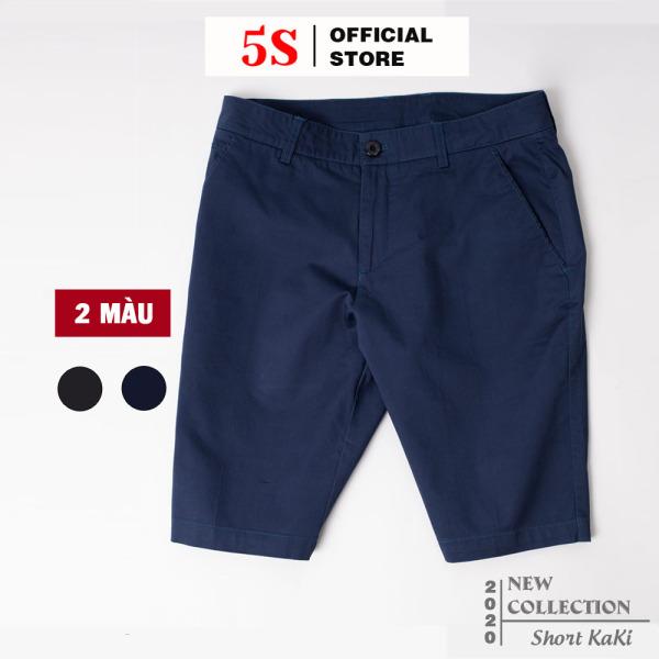 Nơi bán Quần Short Nam Kaki 5S (2 Màu) Kiểu Dáng Slimfit Trẻ Trung, Năng Động, Mẫu Mới (QKKS020)