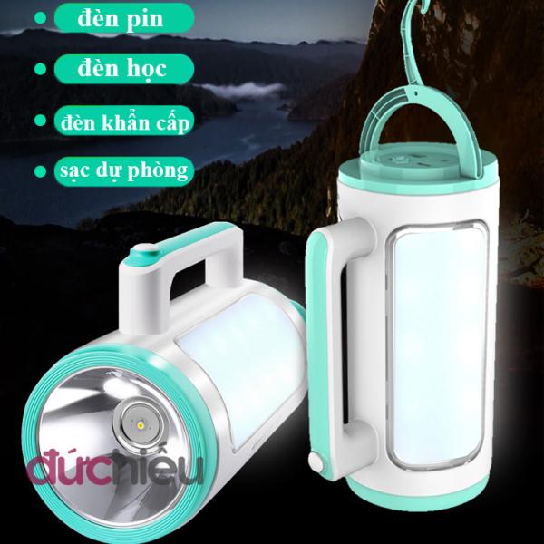 Đèn pin siêu sáng cầm tay đa năng 2 trong 1 Kamisafe
