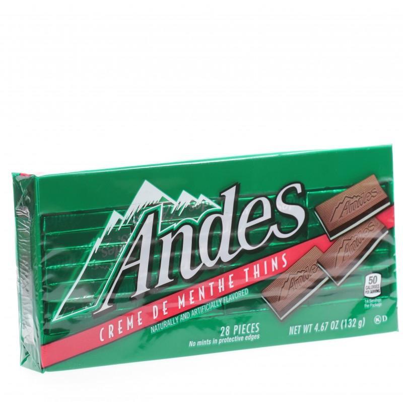 Kẹo socola bạc hà Andes hộp 132g