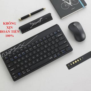 [CHÍNH HÃNG, NHỎ GỌN] Bộ chuột và bàn phím không dây chất lượng cao, thiết kế chắc chắn, chống nước tốt, ký tự dễ đọc, phím êm, chuột độ phân giải cao,nhanh,siêu nhạy, tiện lợi cho dân văn phòng, game thủ - BH 1 NĂM thumbnail