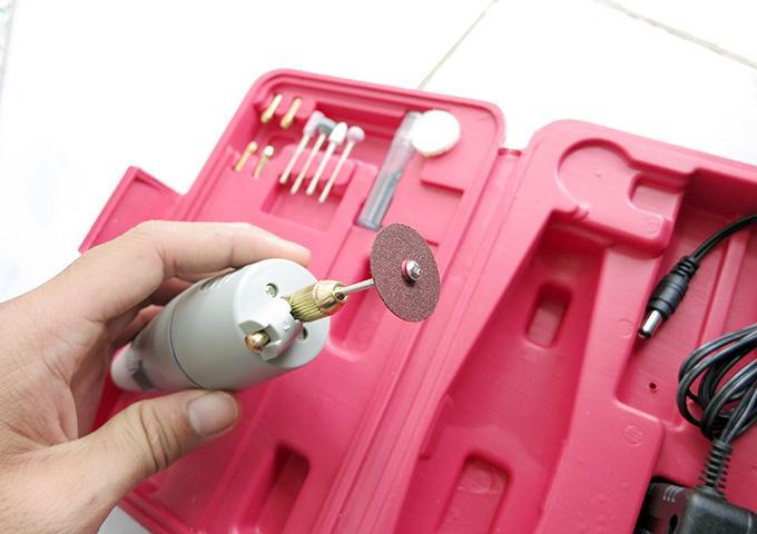 Máy Khoan Mini, Máy Mài Cắt Loại Nhỏ, Bộ máy khoan mài cắt cầm tay mini - khoan mini Không Dây Dụng Cụ Xoay Với Mài Bộ Phụ Kiện Đa Năng
