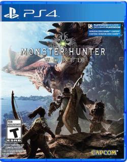 Đĩa game PS4 Monster Hunter World (Hệ US) thumbnail