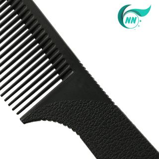 Lược Thẳng 2 đầu thưa 3 mm , dầy 1 mm , dài 17,4 cm x 2,5 cm Lược thường giá thành thấp ( đen ) phụ kiện cho tóc 2