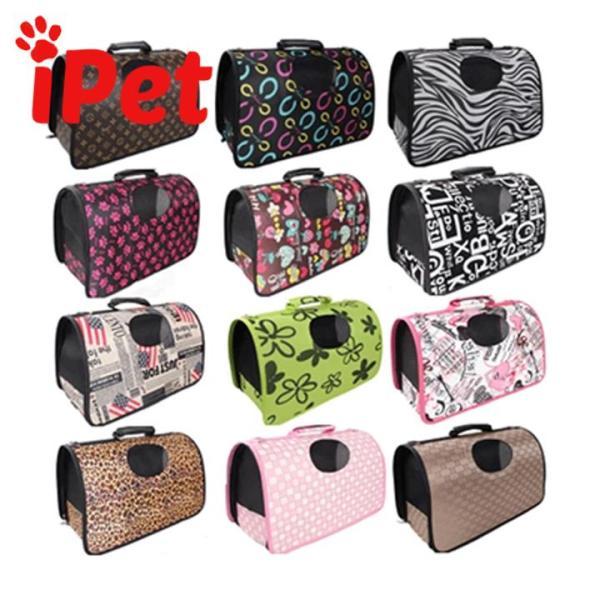 Túi Vận Chuyển Thú Cưng Chó Mèo Có Họa Tiết Dễ Thương - iPet Shop