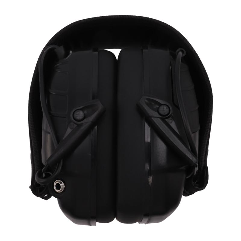 Electronic Earmuff NRR 25DB Hunting Electronics Protection Hunting Ear Muffs (Black)