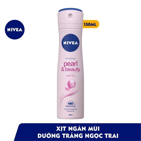 [HCM]Xịt ngăn mùi Nivea Ngọc trai quyến rũ  (150ml) cam kết hàng đúng mô tả chất lượng đảm bảo an toàn đến sức khỏe người sử dụng