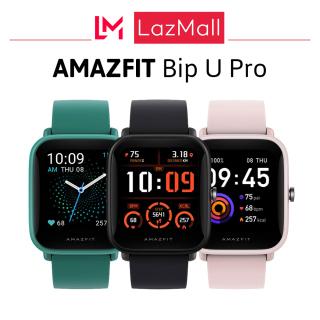 Đồng hồ thông minh Huami Amazfit Bip U Pro phiên bản quốc tế Mới 100% nguyên hộp Bảo hành 12 tháng thumbnail