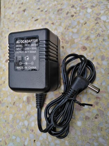 Bảng giá Nguồn biến áp AC-DC 6V300mA, Adapter AC-DC 6V 300mA