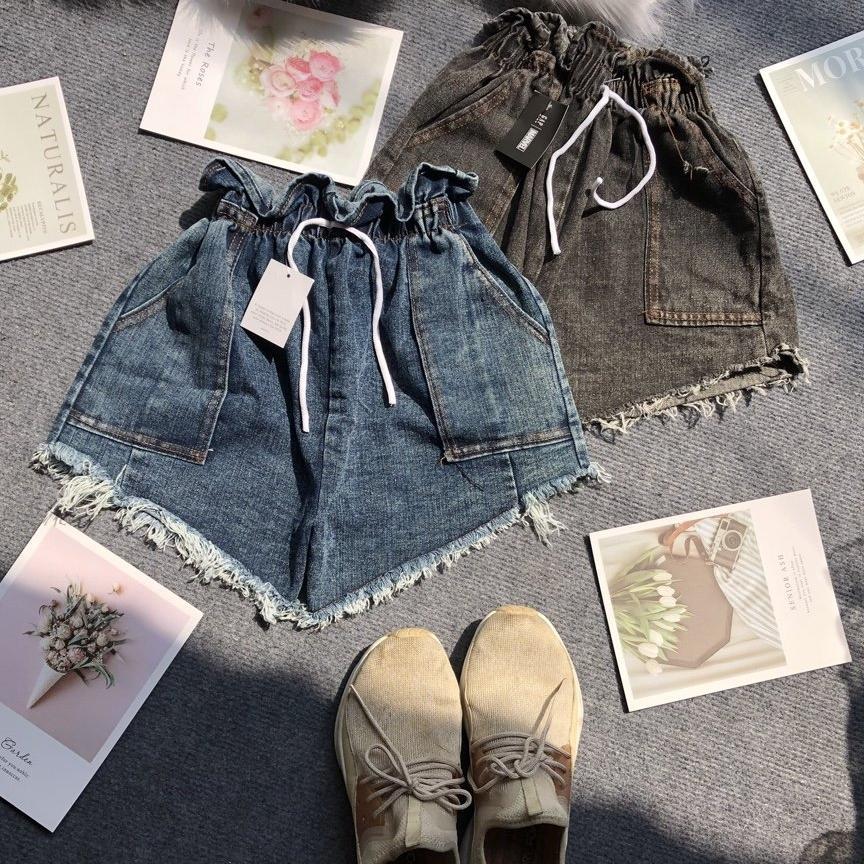 quần đùi jean nữ