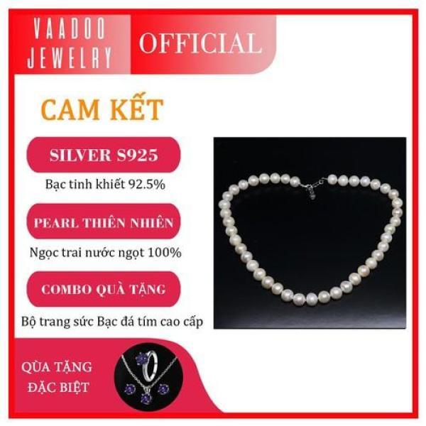 Chuỗi vòng cổ Ngọc trai 11 ly cao cấp Thương hiệu Vaadoo Jewelry làm quà tặng - VNT11