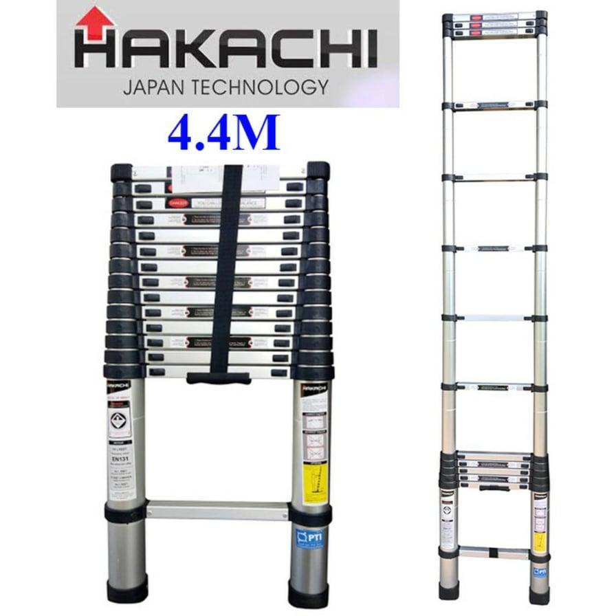 THANG NHÔM RÚT HAKACHI NHẬT BẢN HT440CP - 4M4. MỚI 2019