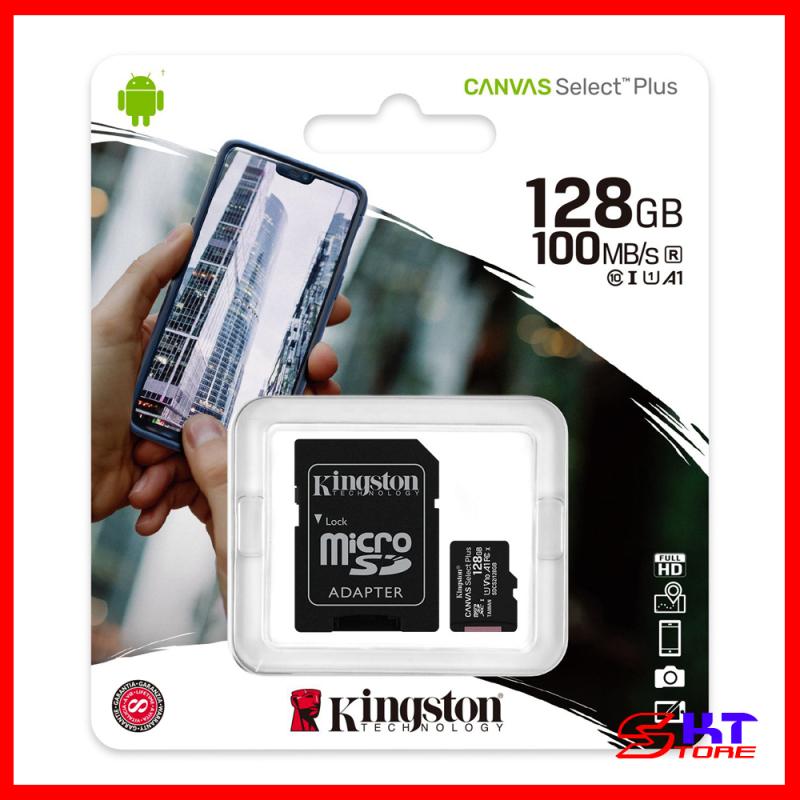 Thẻ nhớ Kingston microSD Canvas Select Plus 16GB / 32GB / 64GB / 128GB - Hàng Chính Hãng