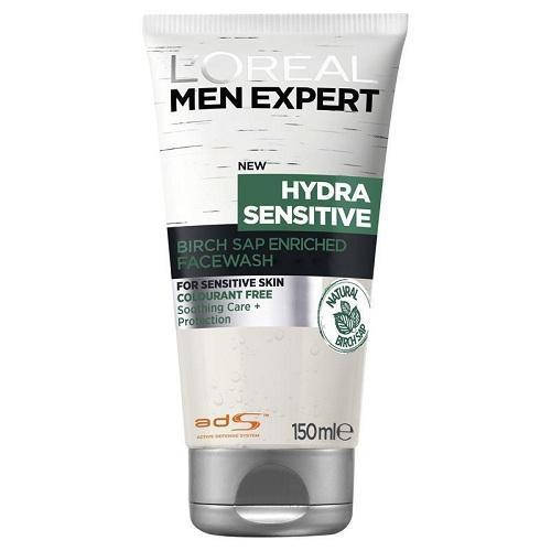 Sữa rửa mặt LOreal Men Expert Hydra Sensitive Cleanser 150 ml tốt nhất