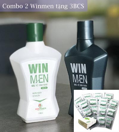Gel vệ sinh nam Winmen + 3BCS hoặc 1 đôi tất chống hôi chân nhập khẩu