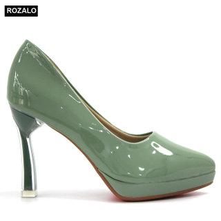 Giày cao gót nữ 9P đế đúp Rozalo R8899 thumbnail