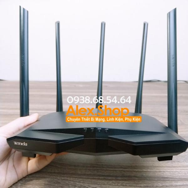 Tenda AC7 Thiết Bị Phát Wifi 1200M- Nhập Khẩu (Bảo Hành 12T)