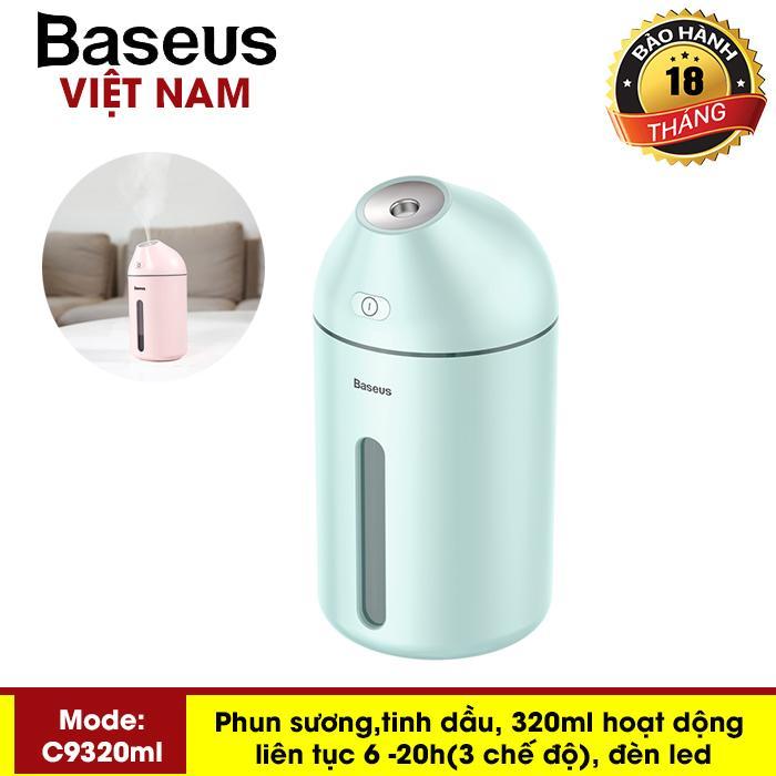 Máy phun sương, tinh dầu đa năng tạo độ ẩm chăm sóc da thương hiệu cao cấp Baseus C9