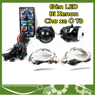 Đèn LED Bi-Xenon 12V 35W cho xe Ô Tô siêu sáng Greennetworks thumbnail