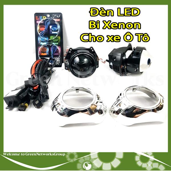 [HCM]Đèn LED Bi-Xenon 12V 35W cho xe Ô Tô siêu sáng Greennetworks