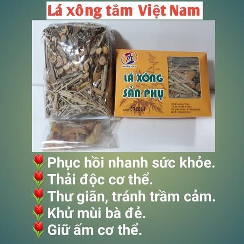 Combo 10 gói lá xông sản phụ Thuận Hiếu phục hồi sức khoẻ sau sinh cho sản phụ nhập khẩu