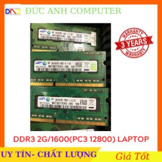Ram laptop ram laptop DDR3 2g bus 1600 mới bảo hành 3 năm - siêu chất lượng sản phẩm tốt chất lượng cao cam kết hàng giống mô tả thumbnail