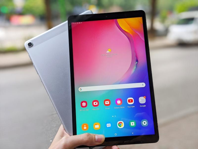 Máy tính bảng Samsung Galaxy Tab A 10.1 2019   Ram 3/32GB OTA trực tiếp trên máy Android 10 mới mẻ   Mua tại Playmobile chính hãng