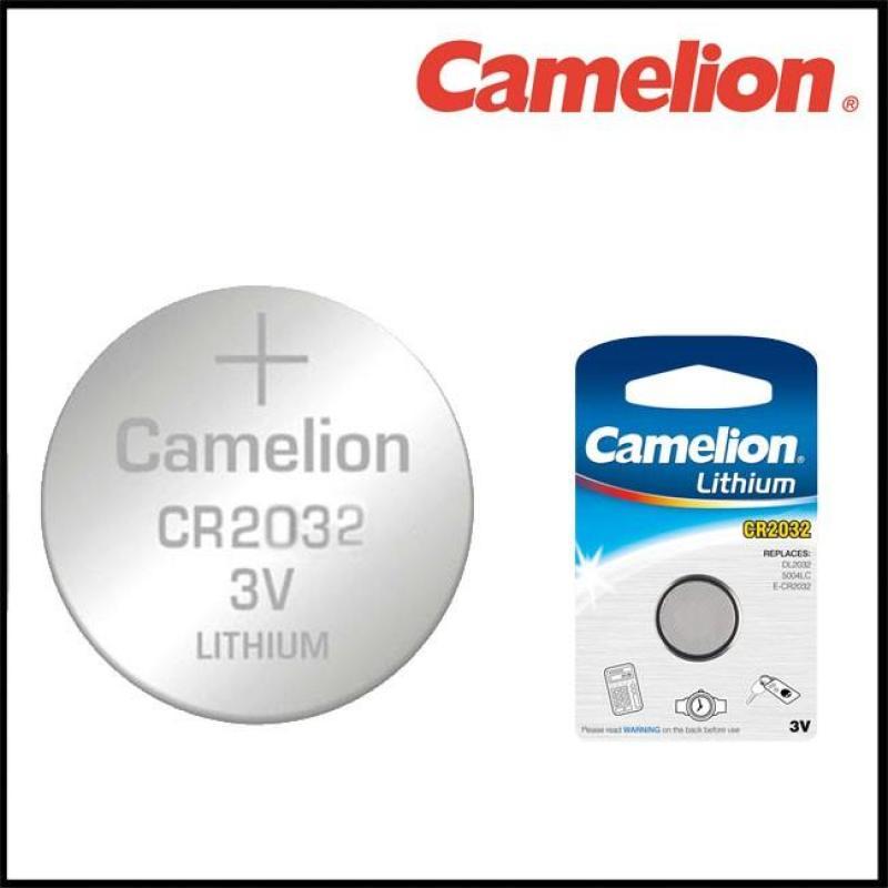 Vỉ 5 Viên Pin cúc áo Cmos CR2032-BP5 Camelion Lithium Battery 3V