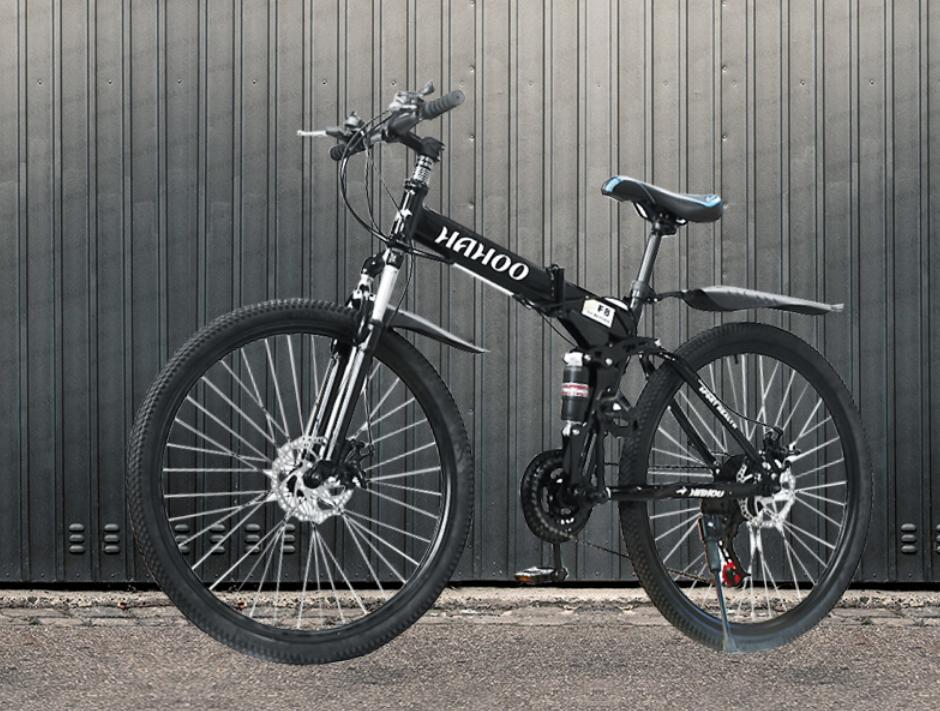 Mua Xe đạp gấp thể thao địa hình Hahoo- bánh căm