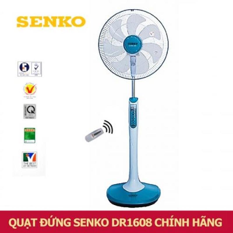 Quạt Đứng Senko Có Remote DR1608 - HÀNG CHÍNH HÃNG (giao màu ngẫu nhiên)