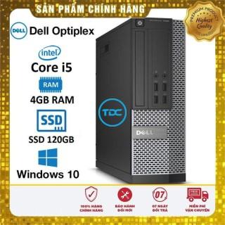 Máy tính đồng bộ Dell Optiplex SFF Core i5 4460 Ram 4Gb Ổ cứng SSD 120Gb. Quà tặng. Hàng Nhập Khẩu.Bảo hành 2 năm thumbnail