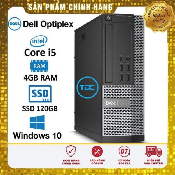 Bảng giá Máy tính đồng bộ Dell Optiplex SFF Core i5 4460 Ram 4Gb Ổ cứng SSD 120Gb. Quà tặng. Hàng Nhập Khẩu.Bảo hành 2 năm Phong Vũ