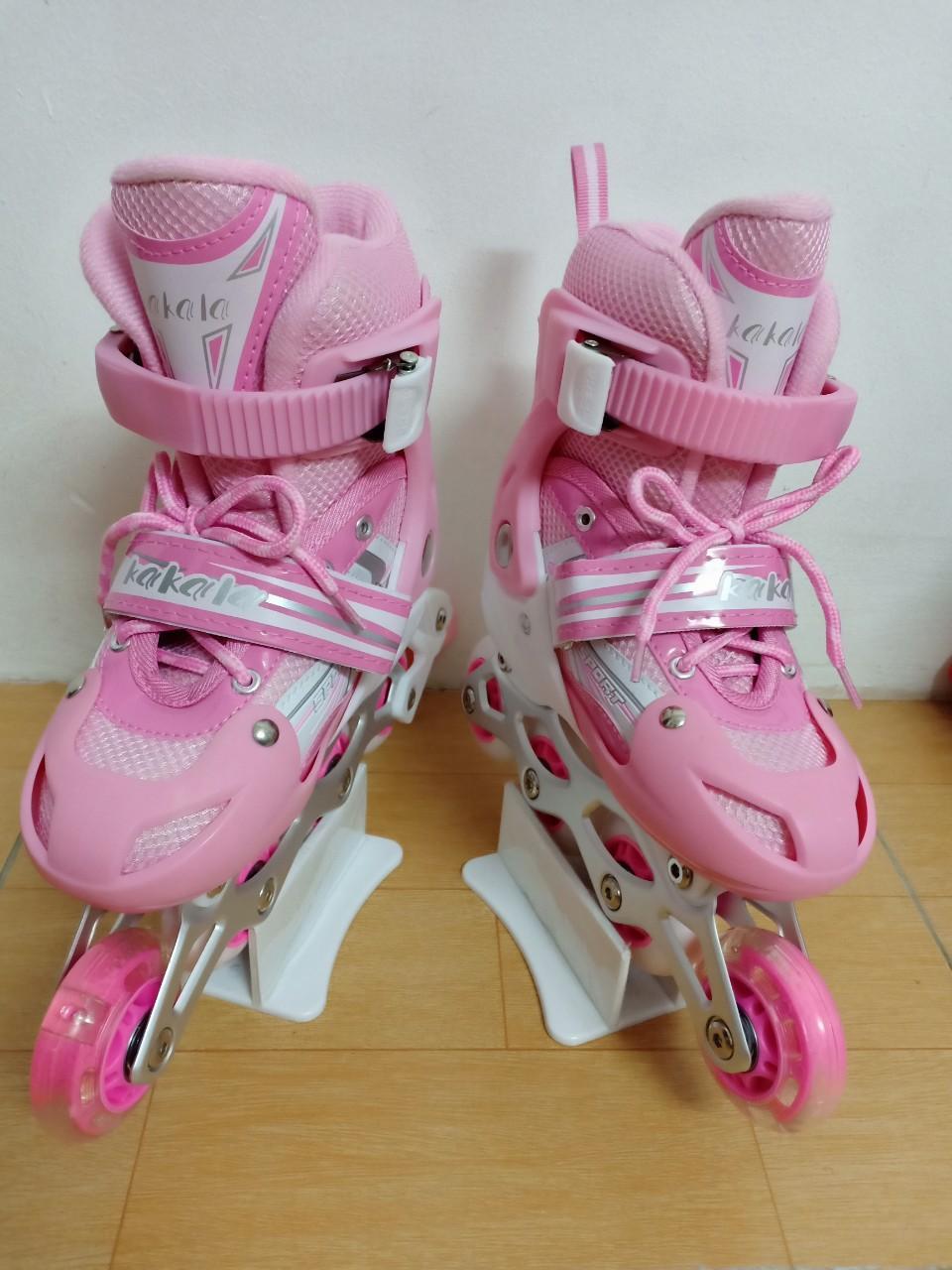 Mua Giày trượt Patin trẻ em màu hồng sen
